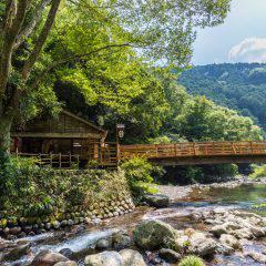 野天風呂 山の家